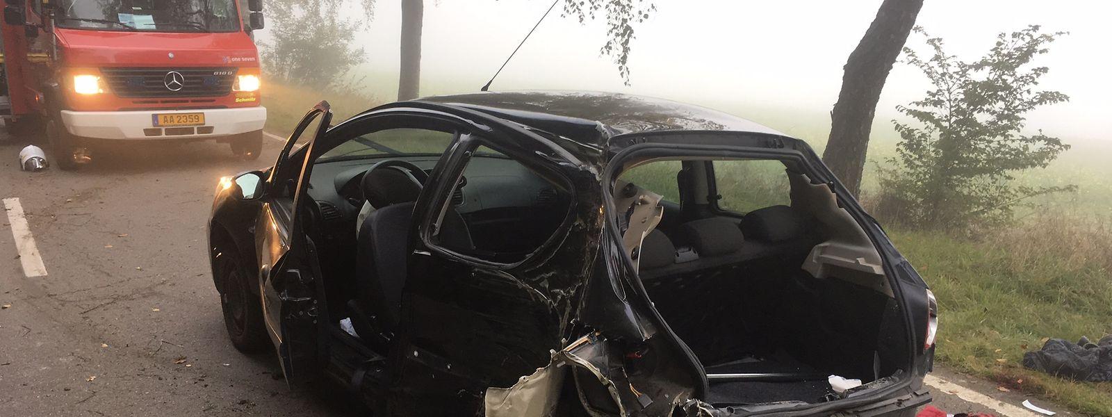 Drei Personen befanden sich im Wagen. Eine junge Frau kam beim Unfall ums Leben.
