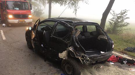 Drei Personen befanden sich im Wagen. Ein junger Mann kam beim Unfall ums Leben.