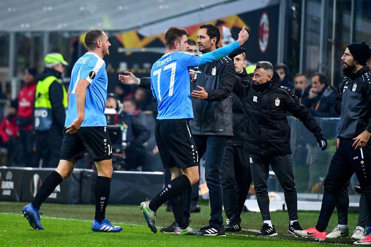 Dave Turpel et les Dudelangeois ont planté deux buts aux Milanais, il y a deux semaines. Malgré la défaite 2-5, les Dudelangeois sont en confiance.