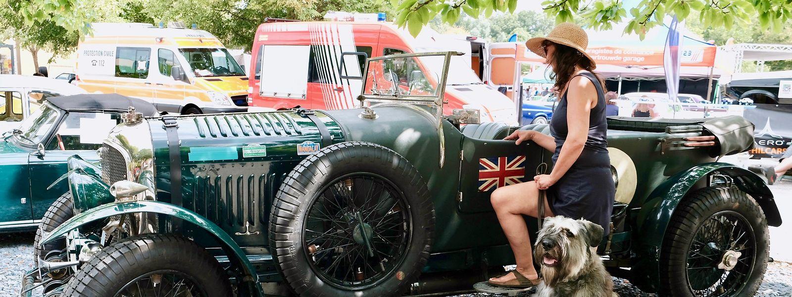 Bei diesem Bentley Racing Car aus den 1930er Jahren wird selbst der Hund plötzlich zum zweitbesten Freund des Menschen.