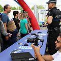 """Zahlreiche Besucher informierten sich während der """"Journée de la Police"""" über die Arbeit der Polizei."""