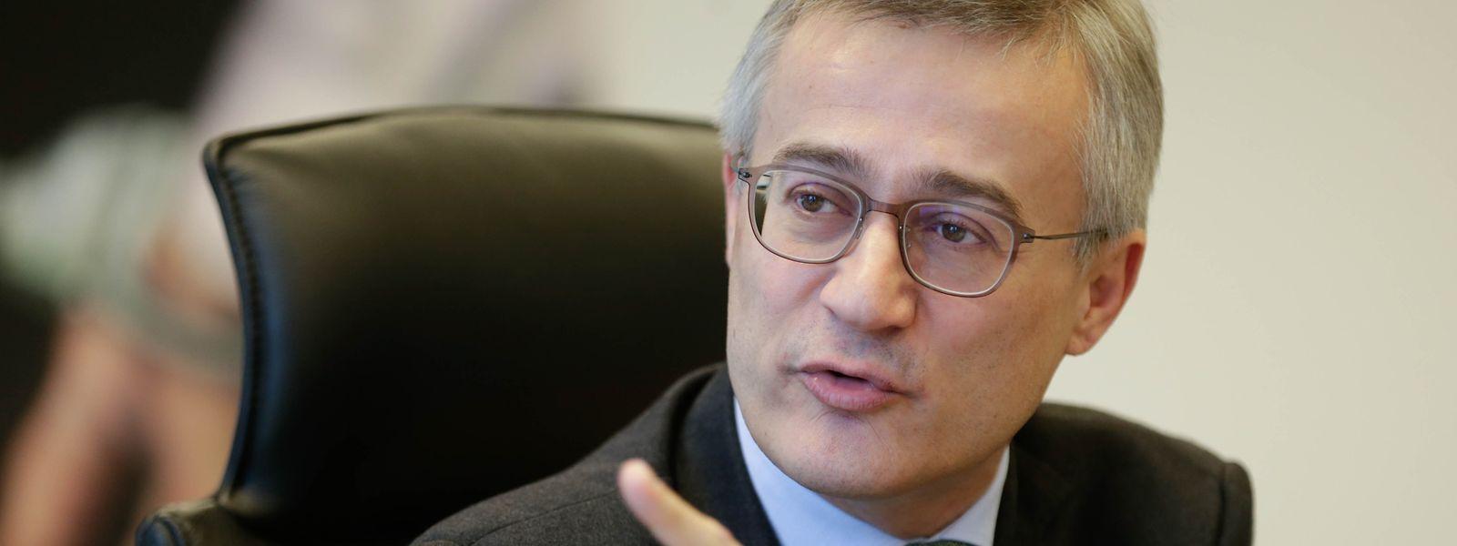 Minister Félix Braz zeigt sich zufrieden mit der Arbeit des Justizministeriums.