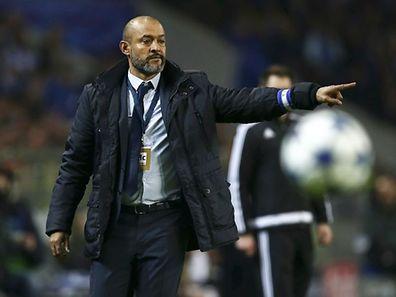 O treinador do FC Porto, Nuno Espírito Santo
