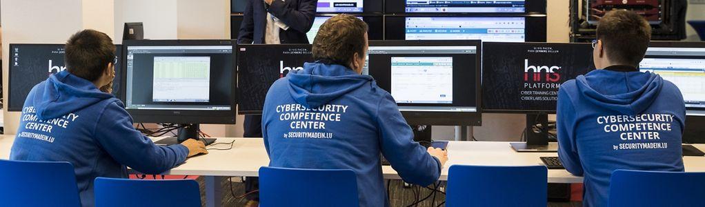 Présentation officielle du C3 - CP & présentation cyberattaque, photo : Caroline Martin