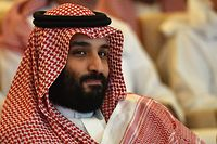 (FILES) In this file photo taken on October 23, 2018 Saudi Crown Prince Mohammed bin Salman attends the Future Investment Initiative (FII) conference in the Saudi capital Riyadh. - The US Central Intelligence Agency has concluded Saudi's powerful Crown Prince Mohammed bin Salman was behind the killing of journalist Jamal Khashoggi, The Washington Post reported on November 16, 2018, citing people close to the matter. (Photo by FAYEZ NURELDINE / AFP)