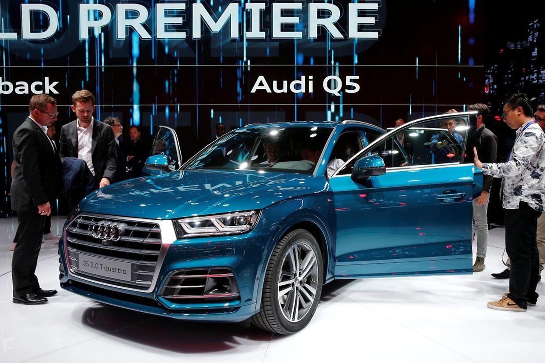 Der Audi Q5 soll bei Effizienz und Dynamik weiter zulegen.