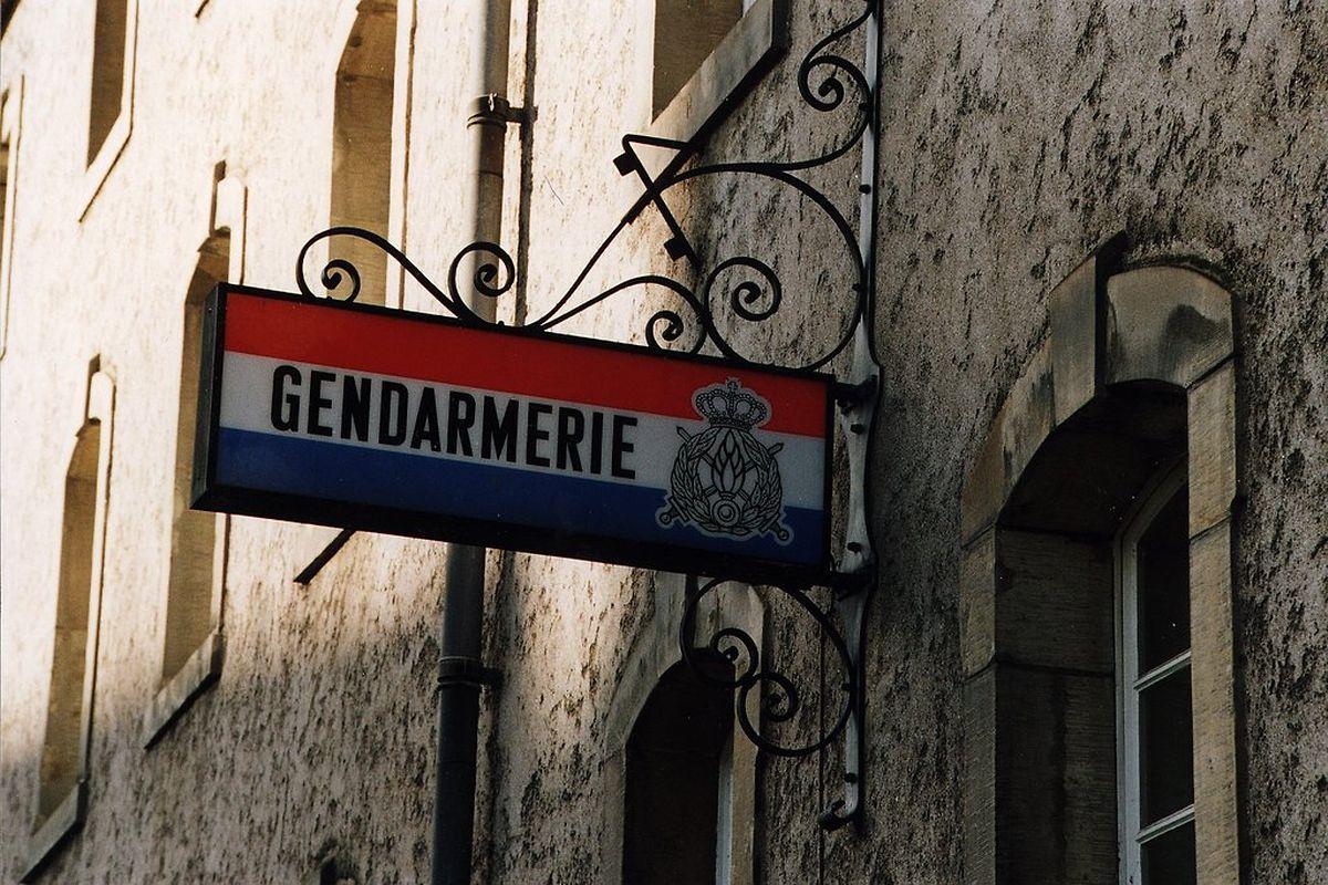 Längst Geschichte: die Gendarmerie.