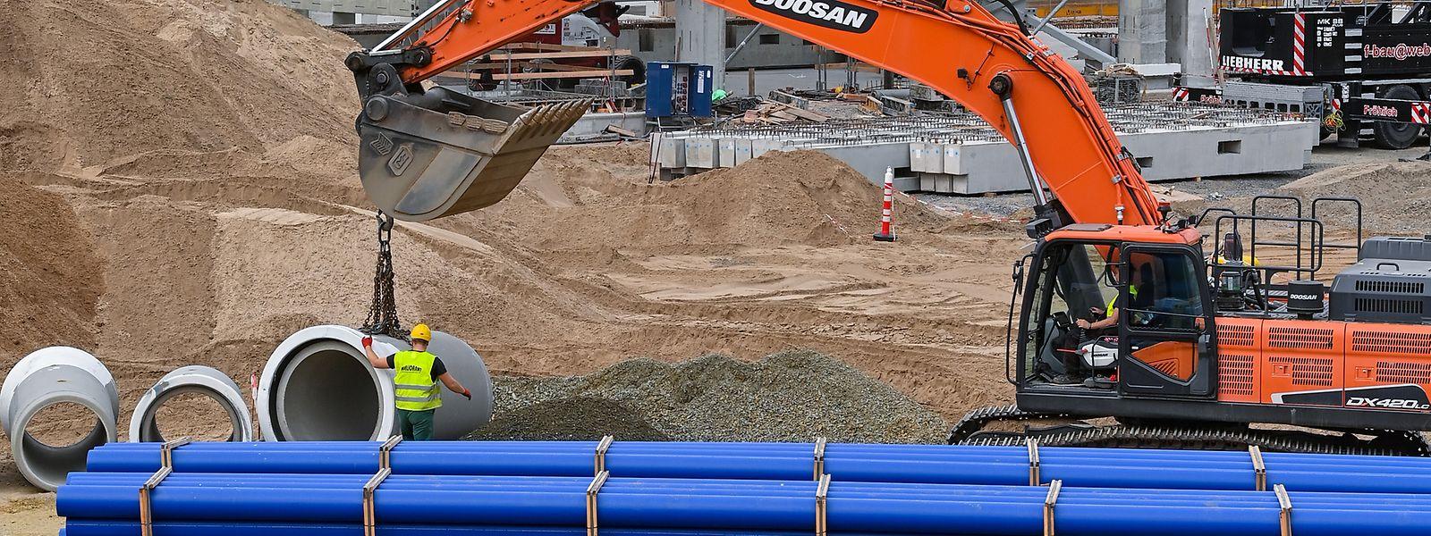 Les entreprises de construction semblent sortir de l'ornière de la pénurie de matériaux de ces derniers mois.