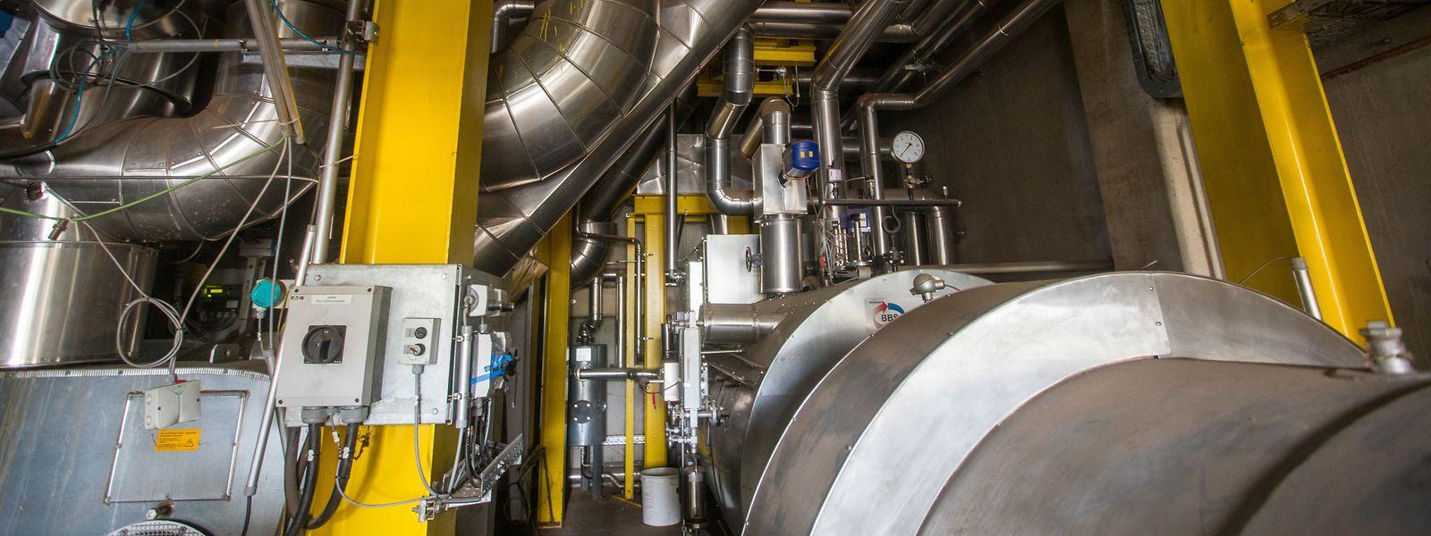 Die Anlage zur Vergasung von Klärschlamm der Firma Soil-Concept ist fast fertig. Das Wirtschaftsministerium hat die Entwicklung der Technik unterstützt, doch jetzt, wo es in die Endphase geht, steht das Umweltministerium auf der Bremse.