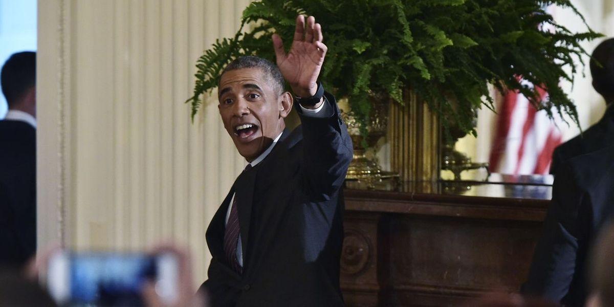 Barack Obama: «Je pense qu'il n'y a jamais eu de candidat aussi qualifié pour ce poste».