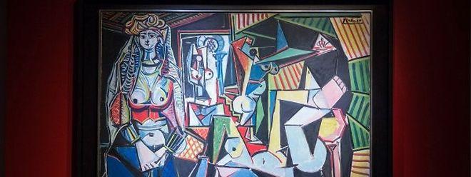 """""""Les femmes d'Alger (Version O)"""" von Pablo Picasso hat die unglaublich Summe von 180 Millionen Dollar erzielt."""