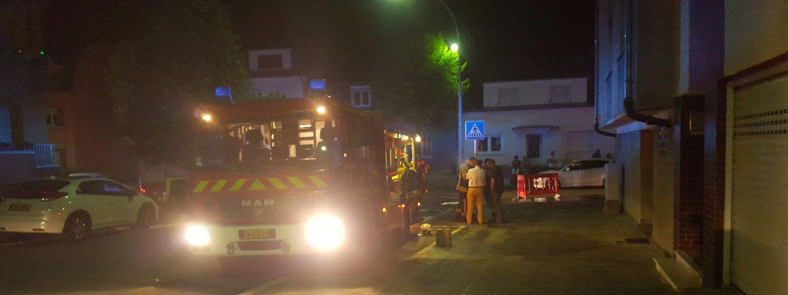 Die Feuerwehren aus drei Gemeinden waren vor Ort.