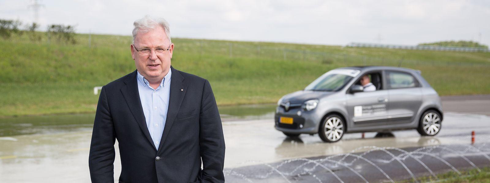 Marc Pannacci, Direktor des Fahrsicherheitszentrums, geht am 10. Juni in Rente.