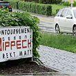 Wer durch die Gemeinde Dippach fährt, kann diesen Transparenten, als Zeuge des zunehmenden Protests, nicht entgehen.