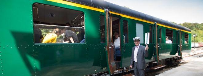 """Bitte einsteigen: Eine Fahrt mit dem """"Train 1900"""" gleicht einer Reise in die Vergangenheit."""