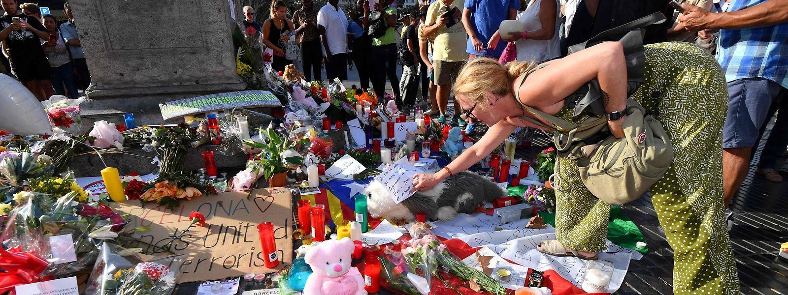 Bei dem Anschlag im Herzen Barcelona kamen 13 Menschen ums Leben, mehr als 100 wurden verletzt.