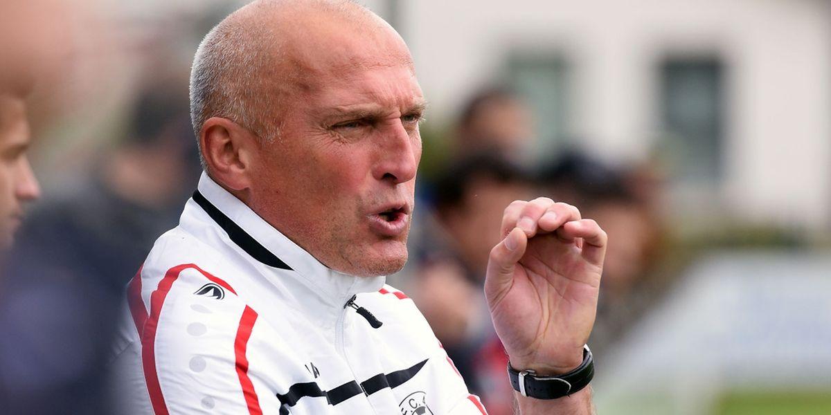Jacek Complak, le coach de Bastendorf, ne fanfaronne pas après le beau succès obtenu contre Walferdange.