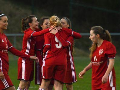 Team Rosport / Fussball-Coupe Damen, Halleffinal: Vianden - Rosport / Fussball / Vianden / Photo : Ralph Hermes / Imagify