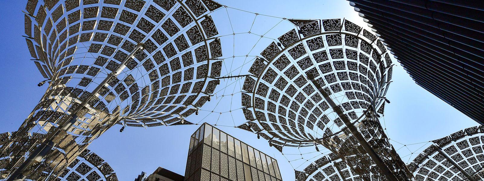 Aus dem Gelände der Weltausstellung soll nach Ende der Expo 2020 ein neues Stadtviertel werden.