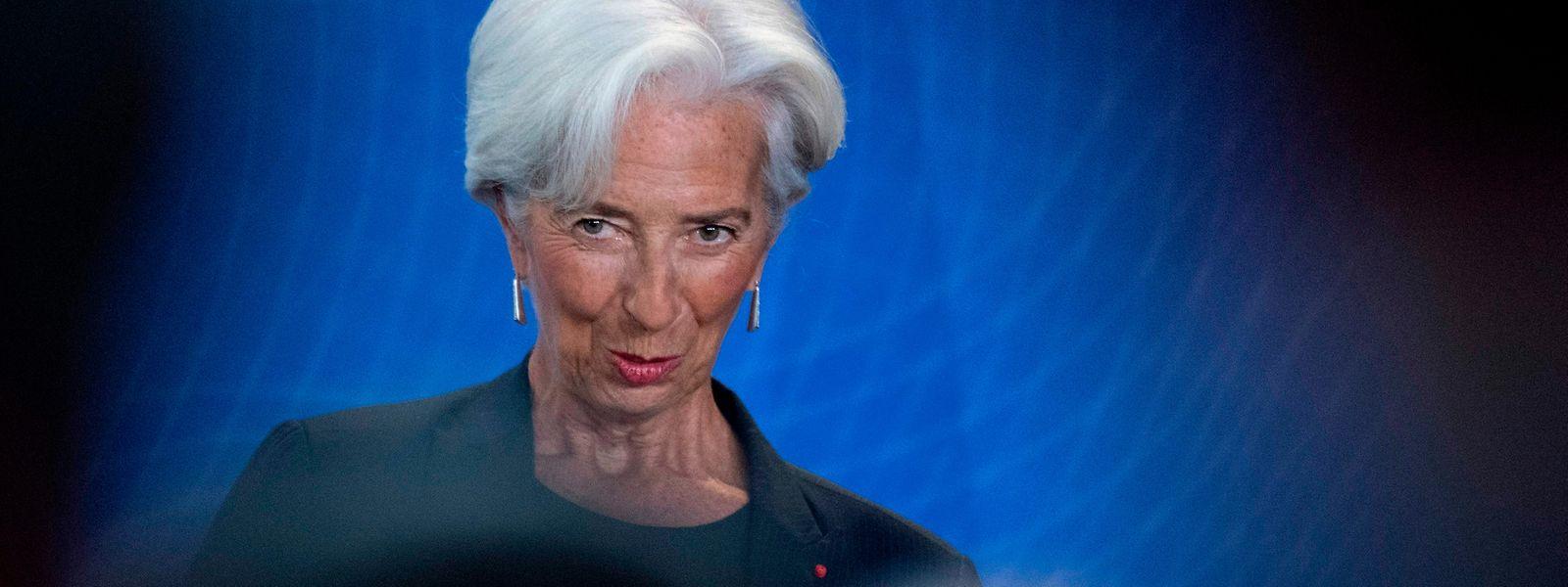 Christine Lagarde verfolgt weiter die von Mario Draghi initiierte Politik.