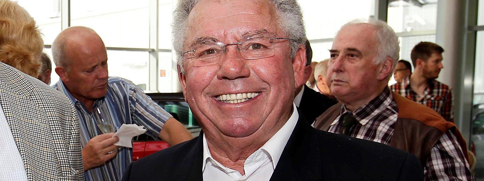 Josy Scuri bei einem Empfang vor acht Jahren in Bereldingen.