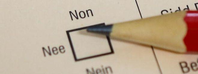 77 Prozent der Befragten sind zufrieden mit dem Ausgang des Referendums.