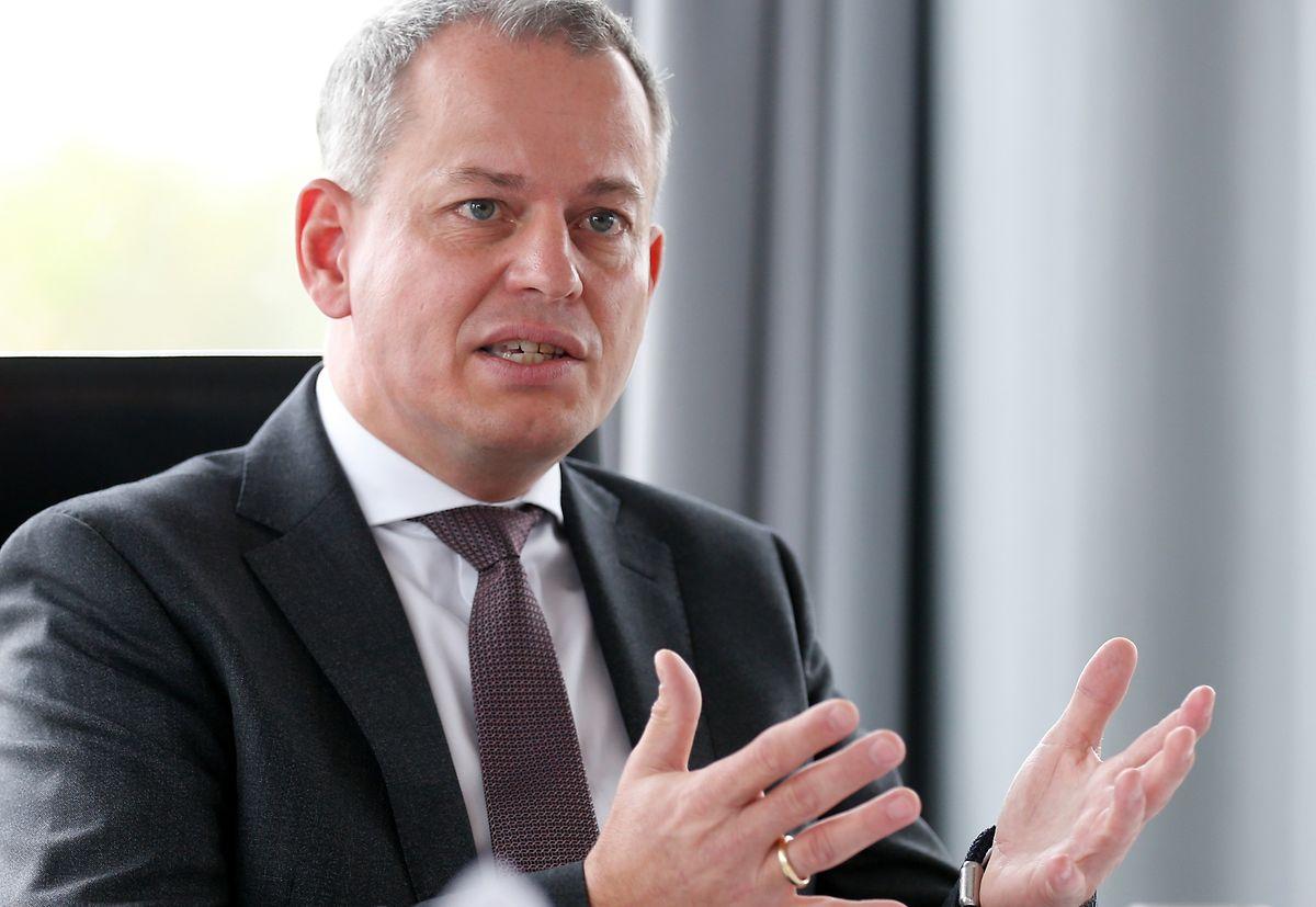 Sehr zurückhaltend äußerte sich Frank Krings auf die Frage nach Strafzahlungen an deutsche Behörden.