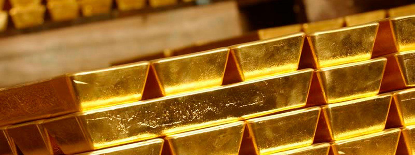 Aus Sicherheitsgründen werden die Goldbarren in kleinen Tranchen zur Bundesbank in Frankfurt gebracht.