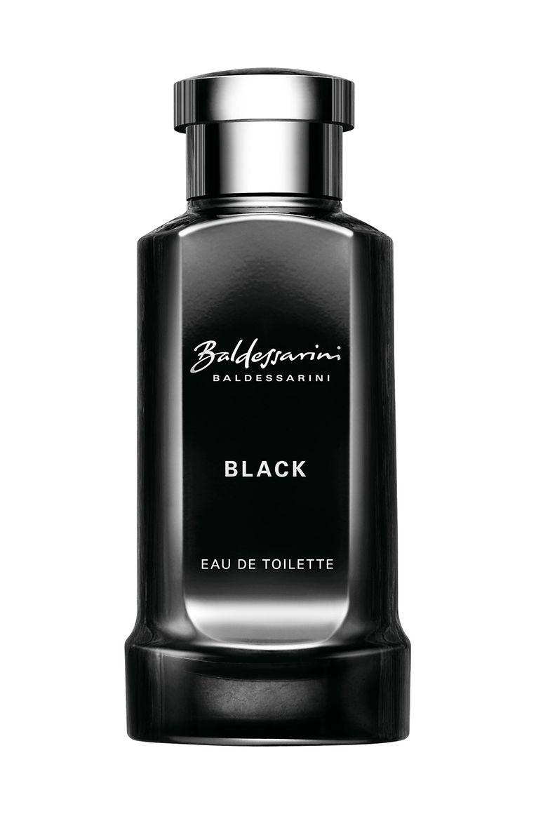 "Eau de Toilette ""Black"" von Baldessarini, 50 ml um 55 Euro."