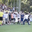 Jeunesse nach 2:1 / Fussball, Saison 2018-2019, Erster Spieltag, Nationaldivision, Jeunesse Esch - Fola / 05.08.2018 / Stade de la Frontiere, Esch-Alzette / Foto: Christian Kemp