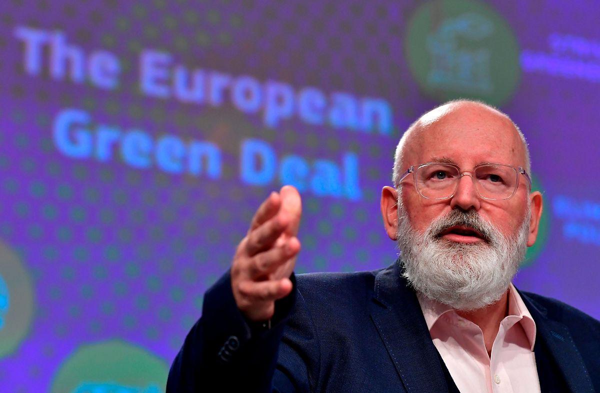 Frans Timmermans, Vizepräsident der EU-Kommission.