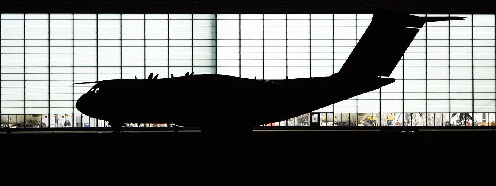 Das luxemburgische Flugzeug ist Teil einer belgischen Einheit.