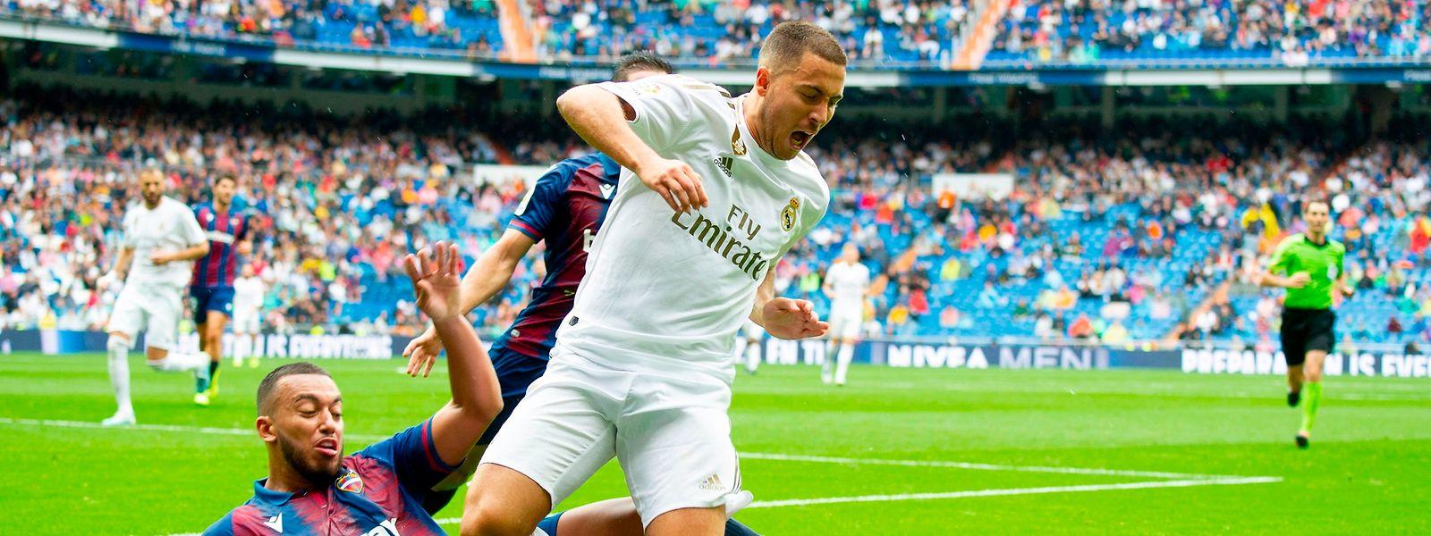 Eden Hazard devrait être titularisé aux côtés de Karim Benzema et de Gareth Bale.