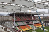 Pressekonferenz + Besichtigung Baustelle des Stadium ''Saint-Symphorien'' in Metz, Foto: Lex Kleren/Luxemburger Wort