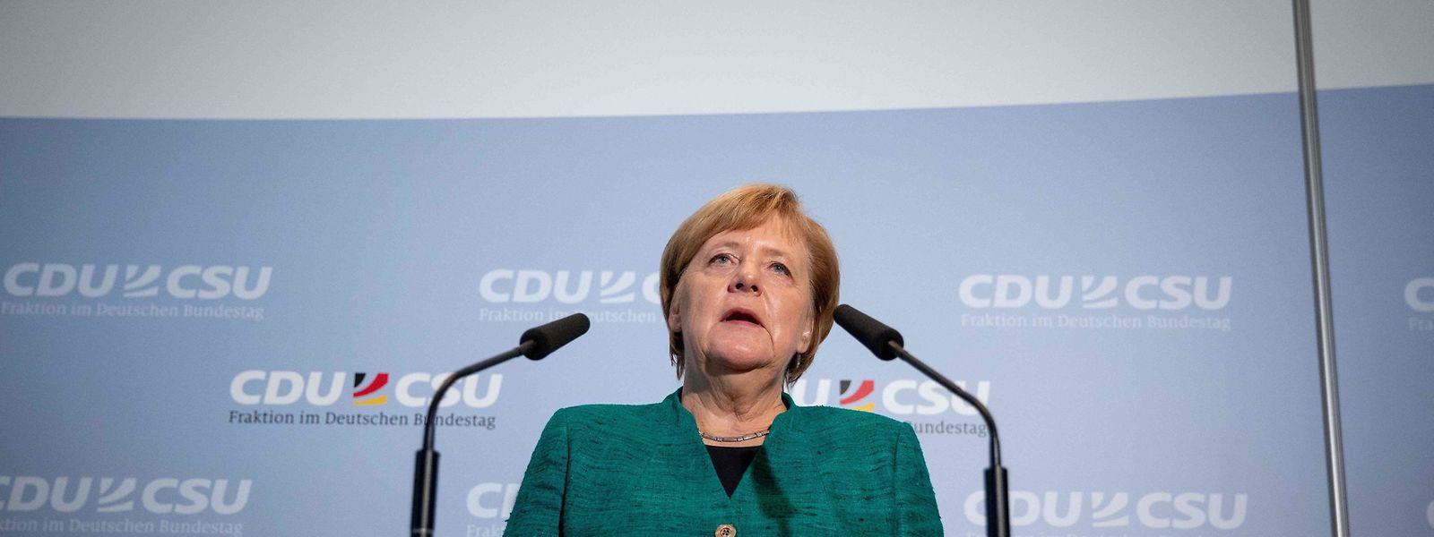 Die deutsche Kanzlerin Angela Merkel steht unter Beschuss.