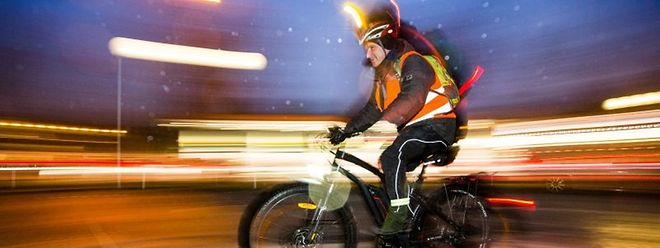 Für manche ist das Pedelec sogar bei Wind und Wetter die Alternative, um zur Arbeit zu fahren.