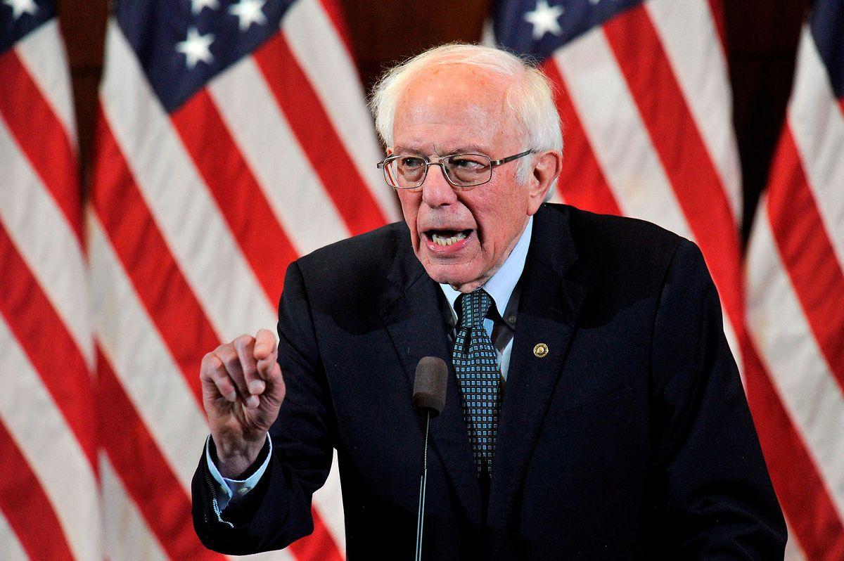 Le sénateur Bernie Sanders, champion de l'aile gauche, avait revendiqué la victoire lundi.
