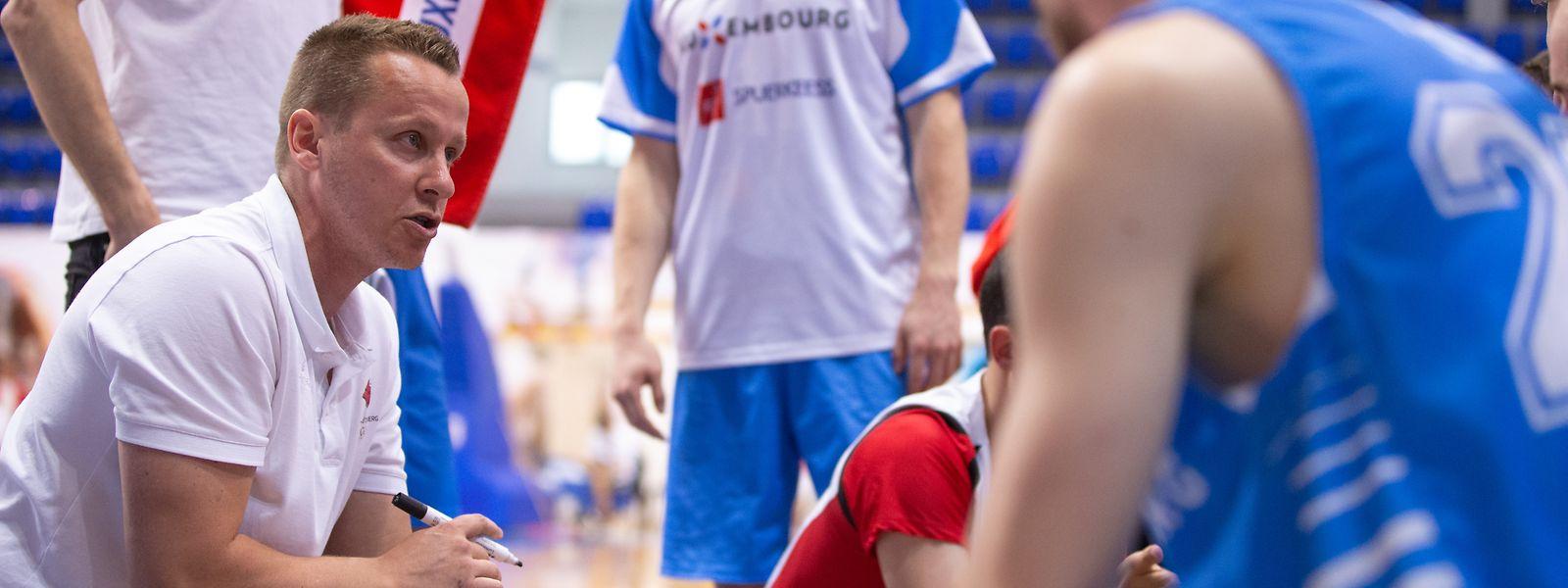 Trainer Ken Diederich wird für die beiden Länderspiele auf insgesamt 13 Spieler setzen.
