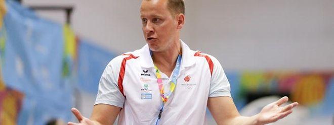 Ken Diederich ist seit Anfang 2016 der Nationaltrainer der Männerauswahl.