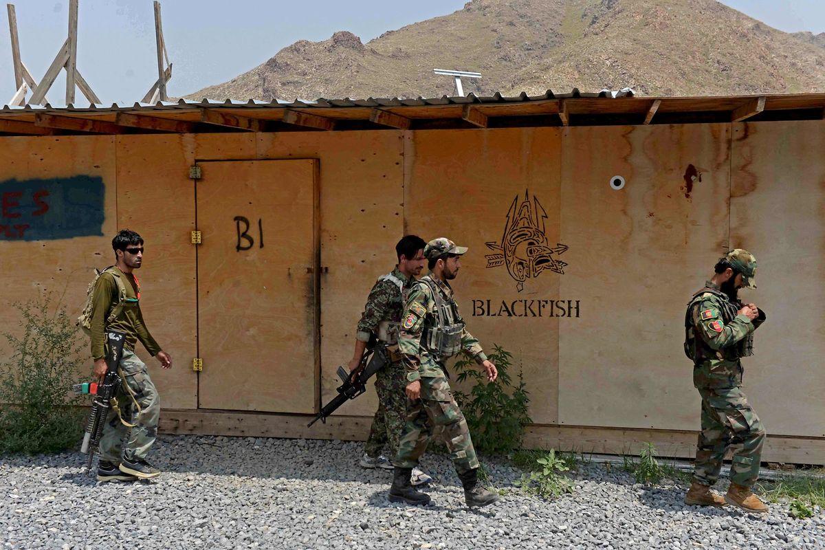 Angehörige der afghanischen Armee.