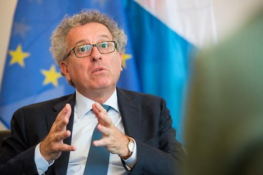 Luxembourg Finance Minister Pierre Gramegna.