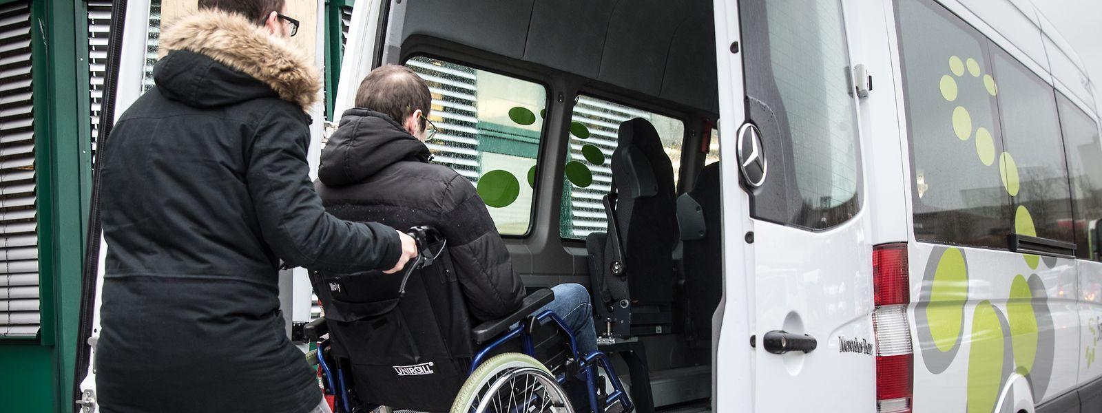 Im vergangenen Jahr hat der Adapto-Fahrdienst landesweit insgesamt 4.786 Menschen befördert.