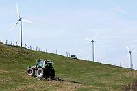 22.03.11 Windpark Kehmen,Heischent, Windrad,gruener Strom,erneuerbare Energie.Foto:Gerry Huberty