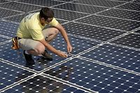 Solaranlage Fotovoltaik