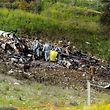 Nur noch Trümmer übrig: Ein israelischer F-16-Jet ist wohl abgeschossen worden.