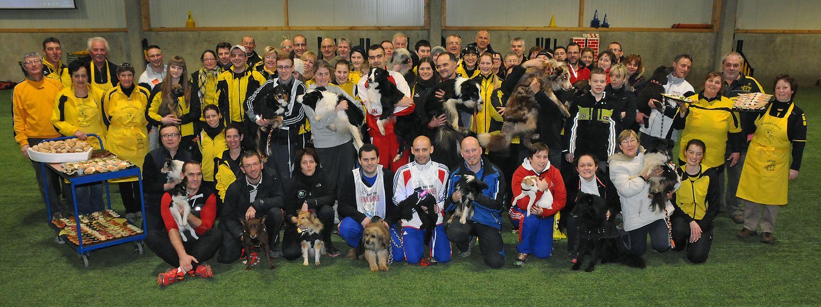 Le sport canin nécessite une complicité entre le maître et son chien.