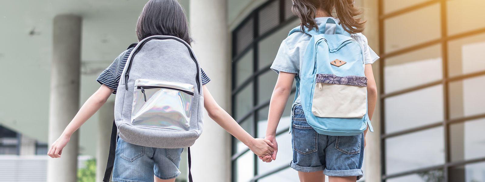 In den meisten Grundschulen in Luxemburg beginnt der Unterricht um 7.50 oder um 8 Uhr.
