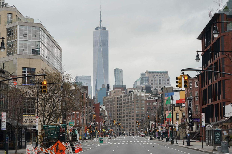 Images inédites de New York.