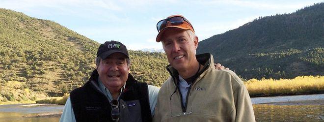 Neil Gorsuch (rechts) mit dem zwischenzeitlich verstorbenen Bundesrichter Antonin Scalia, dessen Nachfolger er werden soll.