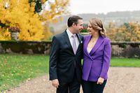Zu der freudigen Nachricht veröffentlichte der großherzogliche Hof auch neue offizielle Fotos des Paares.